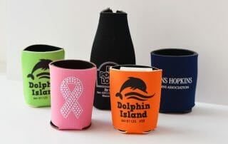 Custom printed koozies promo item