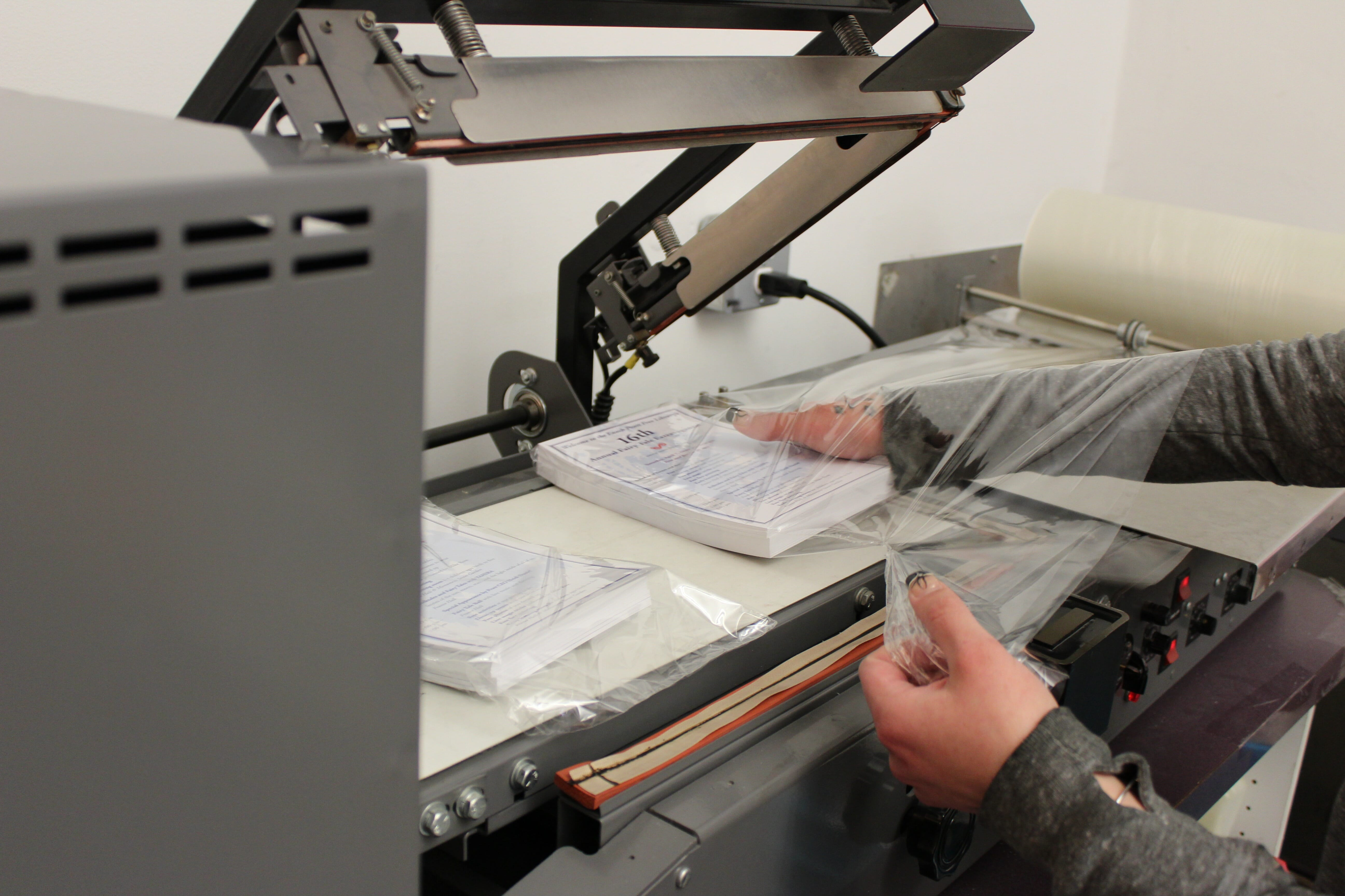 Shrink Wrapping Print Services